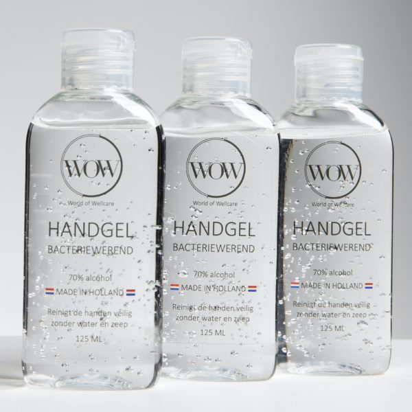 WOW bacteriewerende handgel 125ml